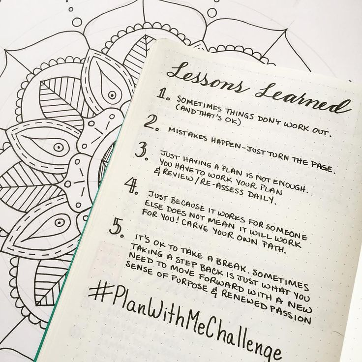 planwithmechallenge Day 10 Lessons Its pretty amazing to me thathellip