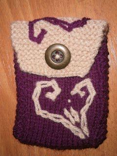 Lia B. Creations: Woollen pouch 032