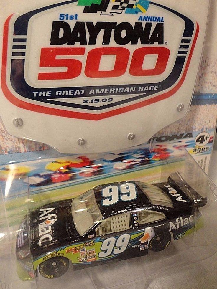 Carl Edwards #99 Daytona 500 2009 1/64 Winner's Circle NASCAR Racing Car Aflac #WinnersCircle #Ford
