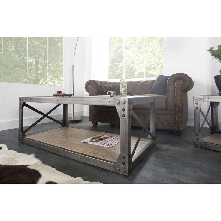 17 best images about d co industrielle on pinterest vintage inspired swee - Table basse palette industrielle vintage ...