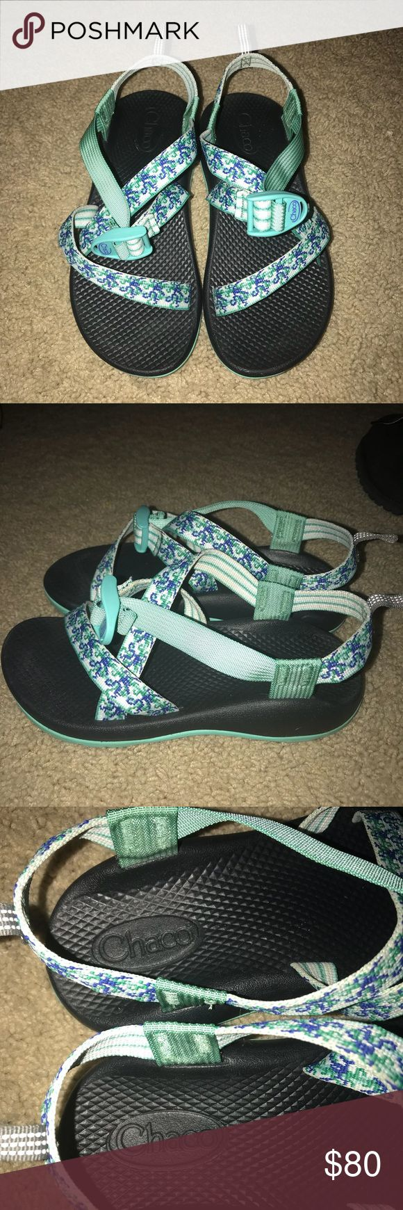 Kids Chacos Perfect condition, only worn twice! Just one size too small for me! Kids size 5, women's 6/7!! Willing to negotiate ☺️ Shoes Water Shoes