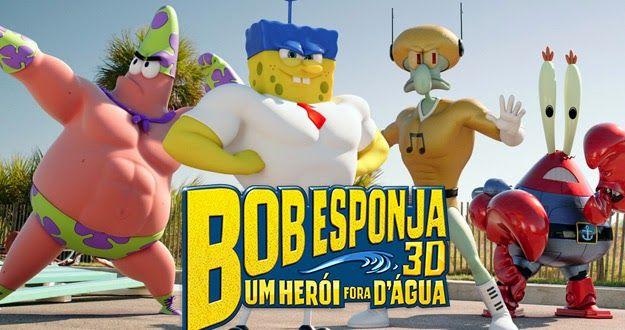 Os Melhores Filmes em Torrent: BOB ESPONJA - UM HERÓI FORA D'ÁGUA (2015) DUBLADO ...