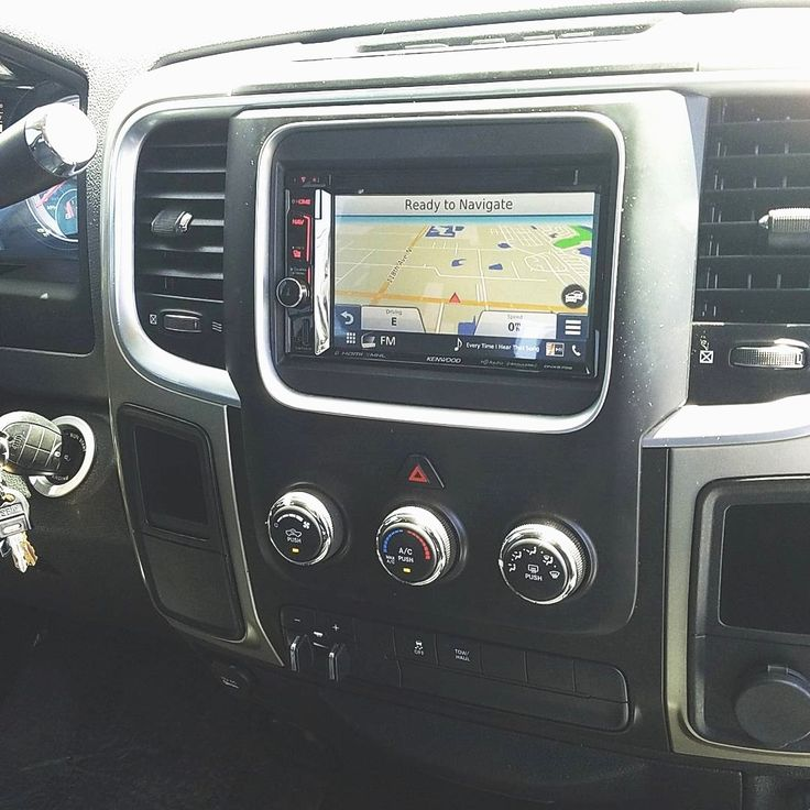 This Ram 2500 truck got a nice upgrade with a Kenwood navigation system including Apple Carplay!#carstereo #carplay #kenwood #dodge #ram #clearwater #stpetersburg