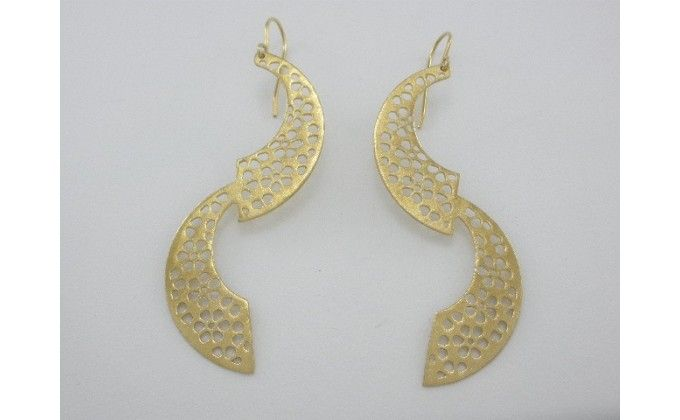 SK 59 Handmade silver earrings