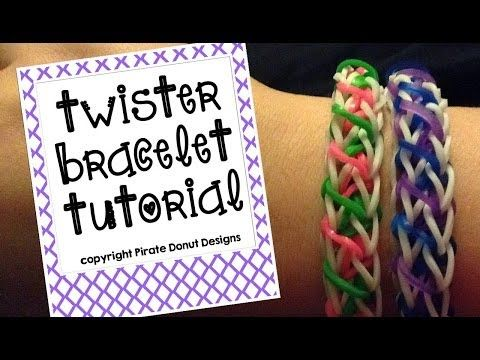 Twister Bracelet Tutorial for Rainbow Loom