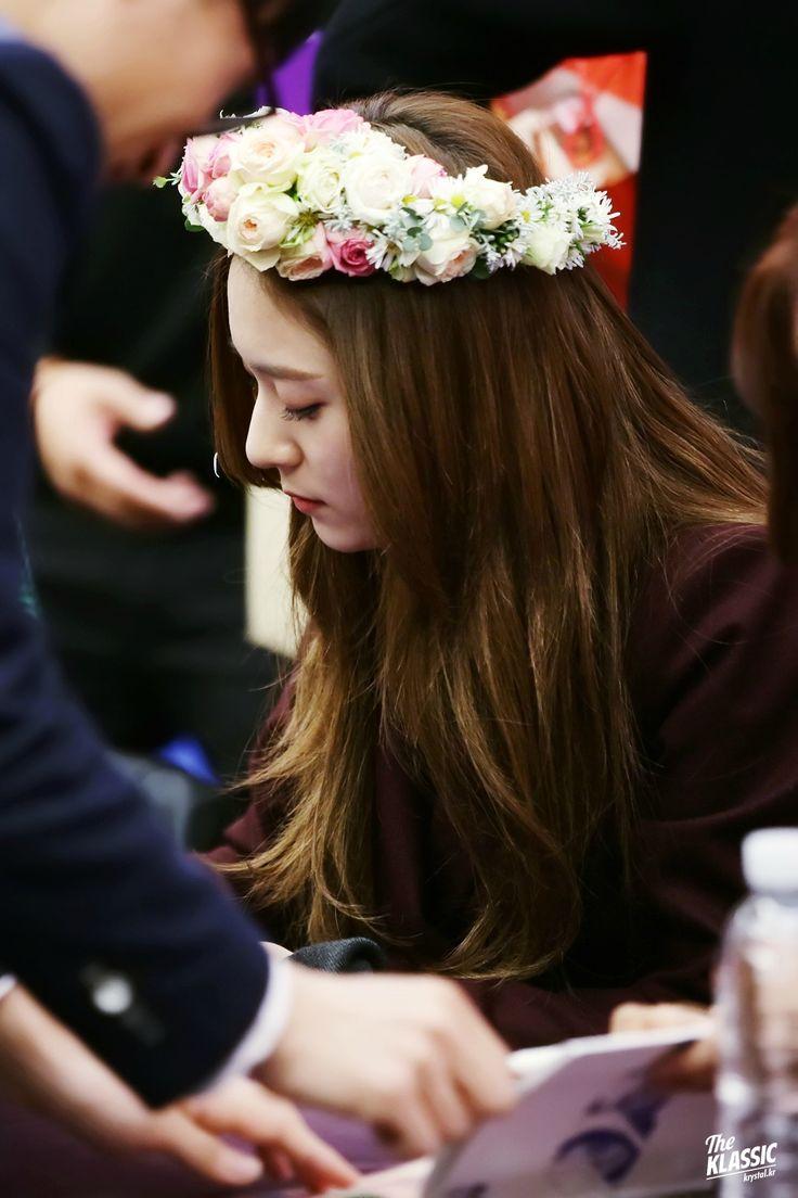 151112 f(Luna)+f(Krystal) = '4 Walls' Fansign in Bundang+COEX [1] | 13P | f(♥)