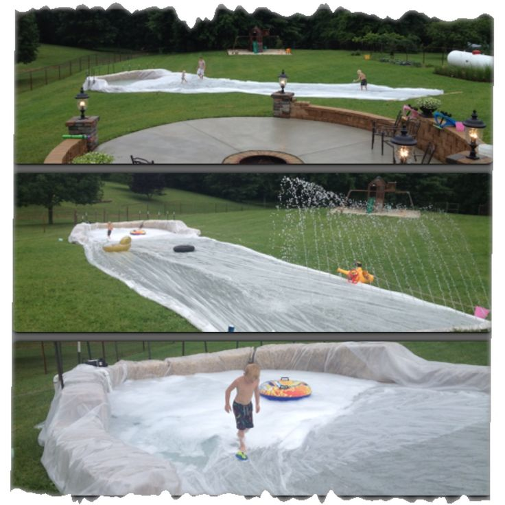 Slip n slide... Sooo awesome!!!