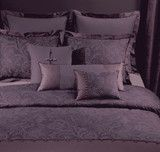 Charisma Marquette Caviar Purple King Duvet Cover