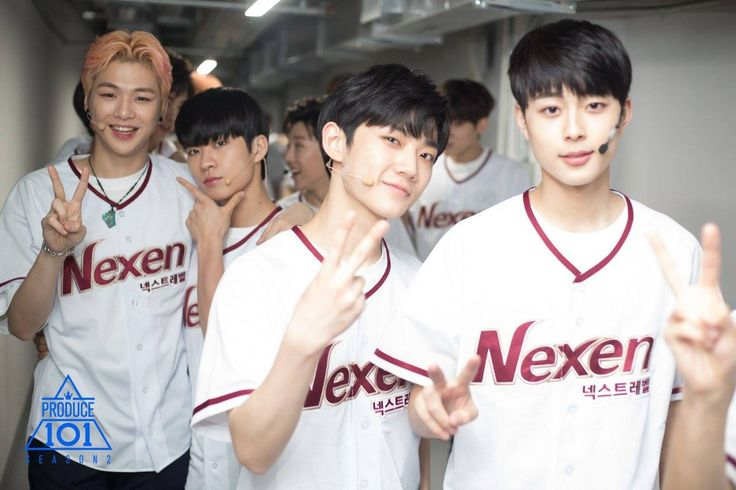Kang Daniel (강다니엘), Byun Hyunmin (변현민), Ahn Hungseop (안형섭) & Yoo Sunho (유선호)