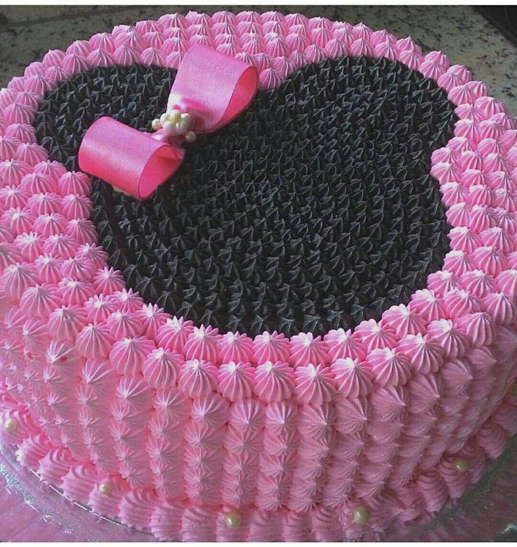 Modelos De Cake De Minnie Mouse
