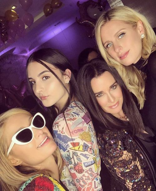 Kyle Richards & Her Daughters Celebrate Niece Paris Hilton's Birthday In NYC