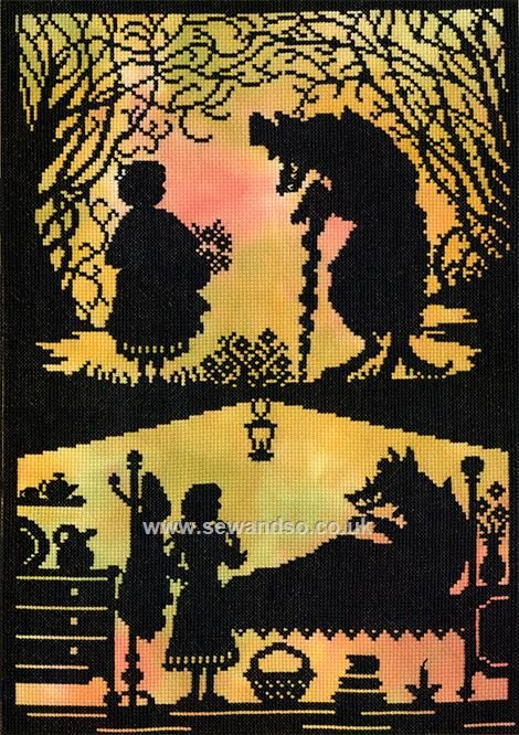 Shop online for Little Red Riding Hood Cross Stitch Kit at sewandso.co.uk. Browse our great range of cross stitch and needlecraft products, in stock, with great prices and fast delivery.