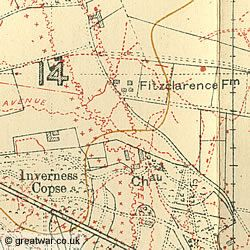 British Army WW1 Trench Maps ~ The Great War 1914-1918