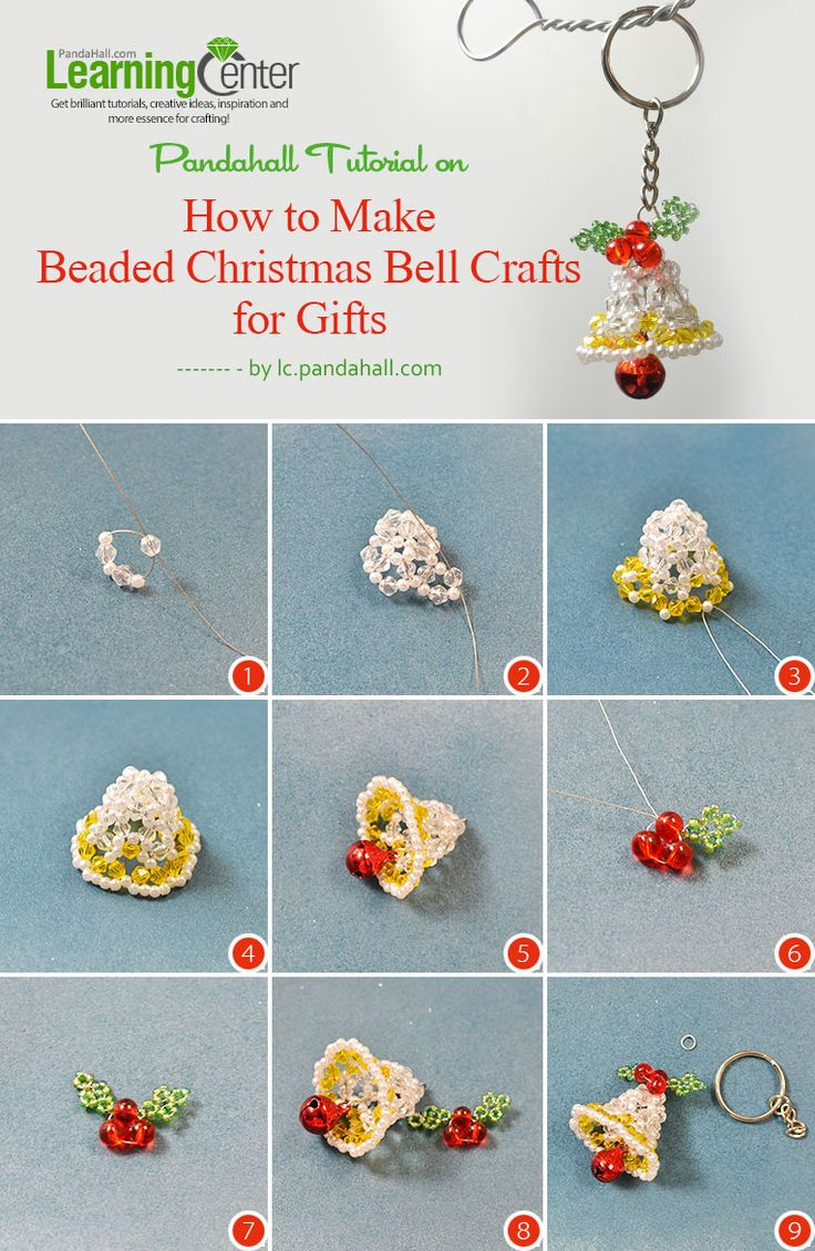 How-to-Make-Beaded-Christmas-Bell-Crafts-for-Gifts