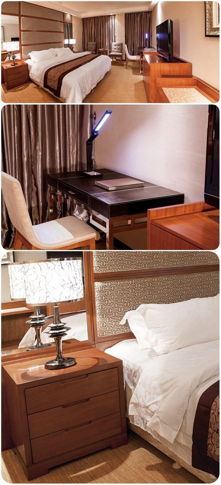 XIANGYUAN 2016 foshan cheap Solid Wood Hotel bedroom