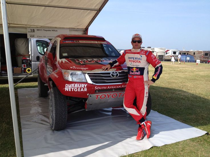 Taking the honour of honours amongst a full house of legendary drivers, Capetonian Giniel de Villiers and his Dakar Racing Toyota Hilux was honoured with the Driver's Award at this year's Goodwood Festival of Speed. It was the 20th time that this legendary event was held in England.