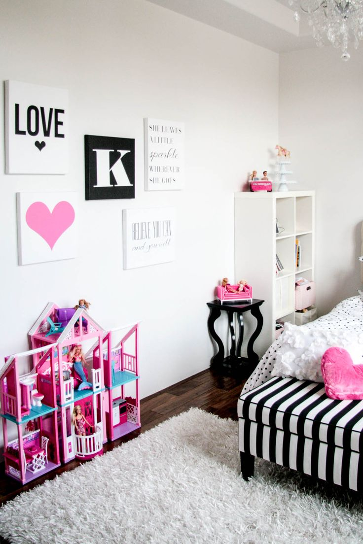 Canvas Art for Kate s Room. 13 best Barbie Room images on Pinterest   Barbie room  Barbie life