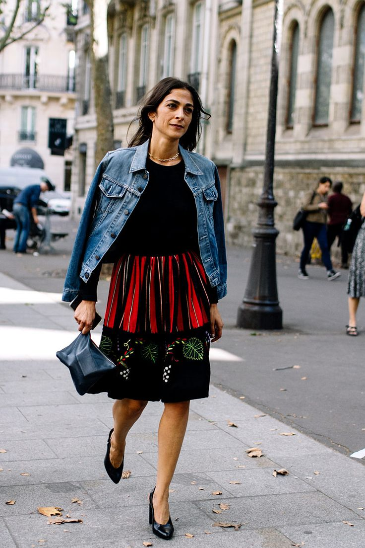 Street Style Paris Fashion Week Primavera Verano 2017 | Galería de fotos 19 de 82 | VOGUE