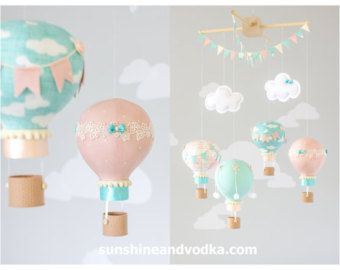 Caliente globo móvil bebé móvil personalizado por sunshineandvodka