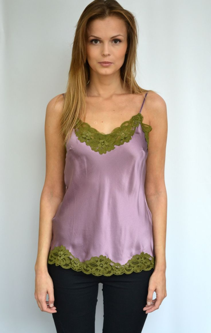 New Floral Lace Cami Top from Gold Hawk at Fashion Addict