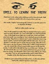 Image result for Witchcraft Spells