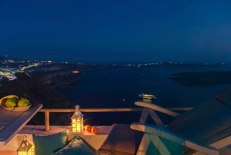 Spectacular view from #Aqua Luxury Suites! more at aquasuites.gr