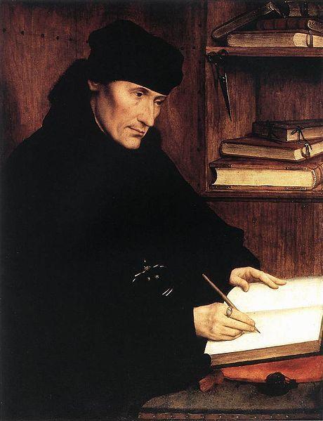 Op 12 juli 1536 overleed Desiderius Erasmus.