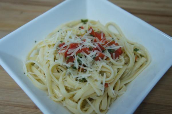 Pasta Aglio, Olio e Peperoncino.