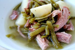 Pennsylvania Dutch Cooking: Ham and Green Beans : Oven Love