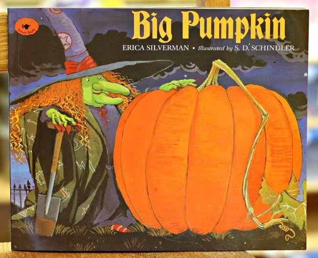 Halloween sequencing activity for the book Big Pumpkin