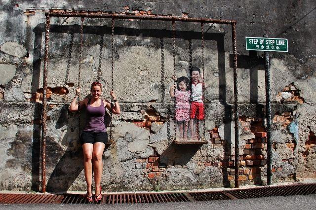 Street Art in Penang – Georgetown's Hidden Sights