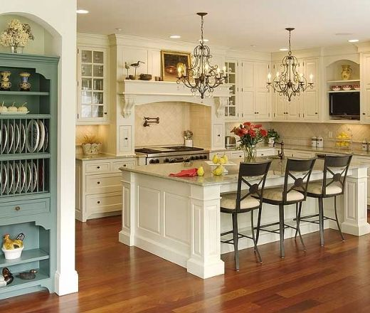 Kitchen Island Against Wall 35 best traditional kitchen inspiration images on pinterest