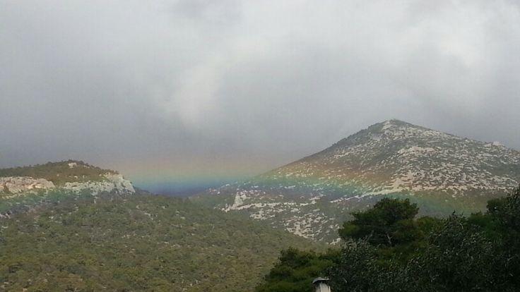 #rainbow #clouds