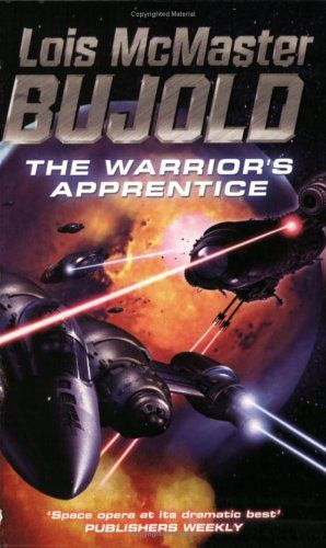 The Warrior's Apprentice by Lois McMaster Bujold - The first in a rather long SciFi series. I read these books when I'm feeling sad or bored because they always cheer me up. Miles is one of my all-time favorite book characters.