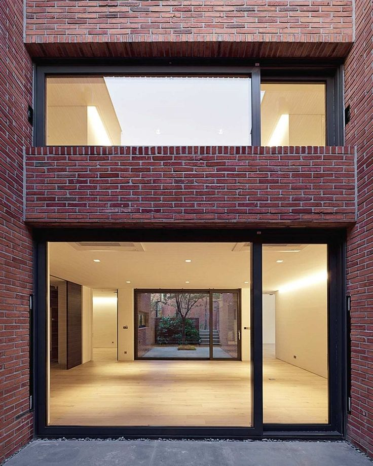 Brick Home Exterior Design Ideas: Best 25+ Modern Brick House Ideas On Pinterest