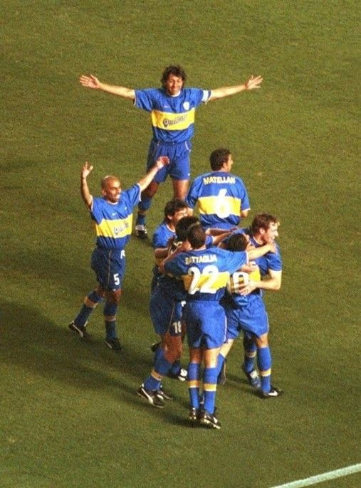 Boca Juniors - Copa Intercontinental 2000 Gol