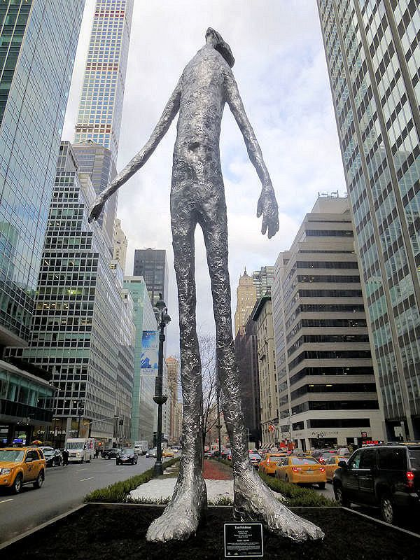 Tom Friedman's Aluminum Sculptures of Quasi-Human Figures | Hi-Fructose Magazine