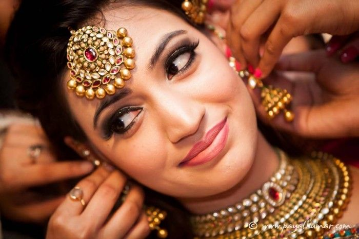Bridal Indian Jewellery #wedmegood