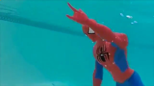 Frozen MERMAID Swim School Barbie Merman and Spiderman Swimming Elsa and...
