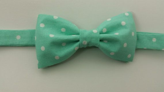 Hey, I found this really awesome Etsy listing at https://www.etsy.com/listing/399185871/polka-dot-teal-bow-tie