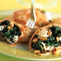 Spinazie-pannenkoeken, favoriet recept.