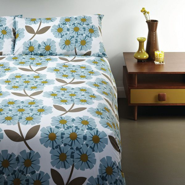Rhododendron Queen Quilt Cover Set with 2 Pillow Cases by Orla Kiely | $219.95 available at SE10 Gallery http://www.se10gallery.com.au/products/rhododendron-queen-quilt-cover-set-with-2-pillow-cases