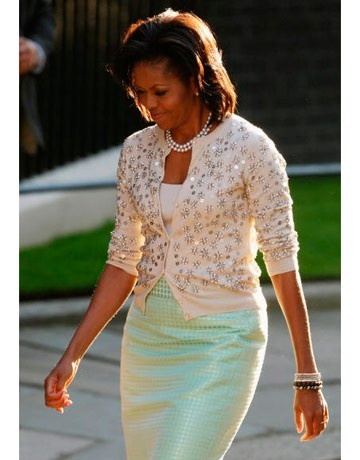 fab Michelle Obama: Fashion Icons, J Crew, Michelle Obama, Style Icons, Michele Obama, Pastel Colors, Pencil Skirts, Jcrew, First Lady
