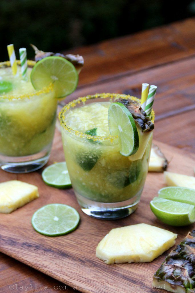 Refreshing Brazilian pineapple caipirinha recipe made with ...