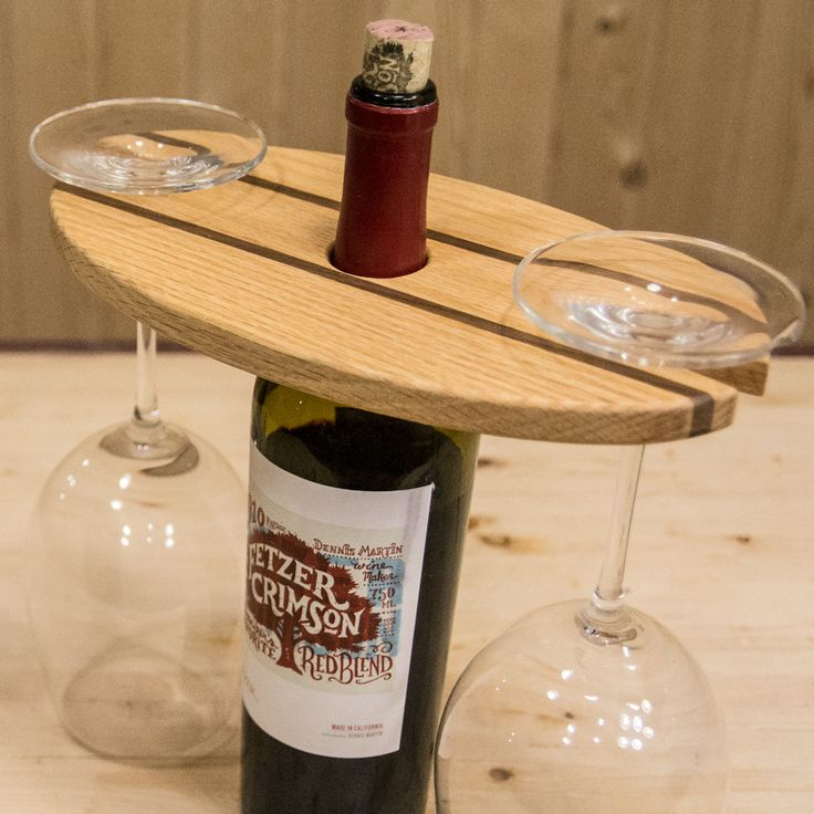 How to make a wine display simple woodworking project for Diy projects with wine bottles