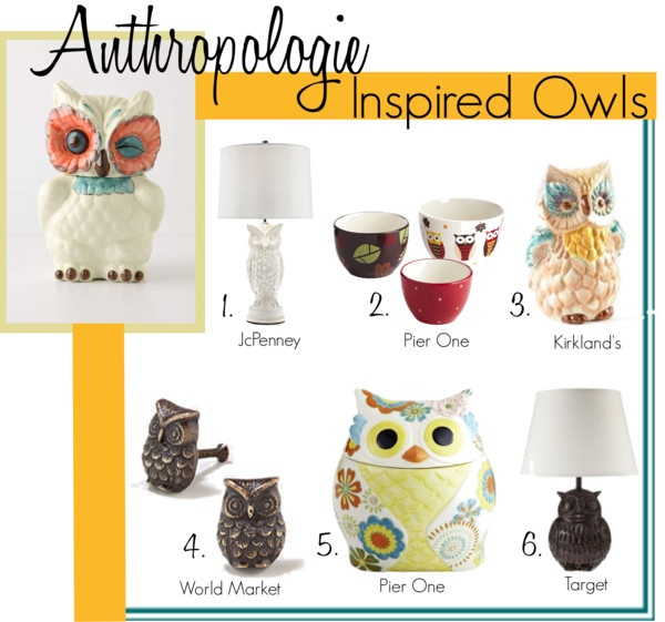 Owl decor... for the fireplace mantel