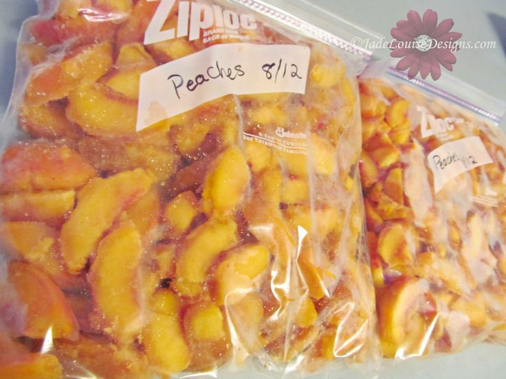 How to Freeze Peaches without Sugar, Taste Fresh Peaces