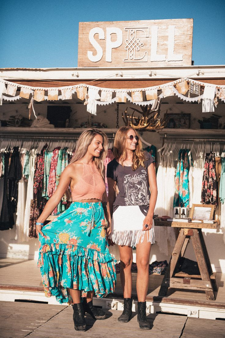 Hippy clothing store