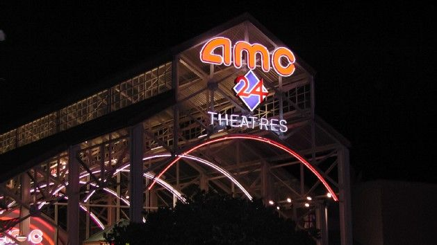 AMC 24 Movie Theater in Downtown Disney near Planet Hollywood.