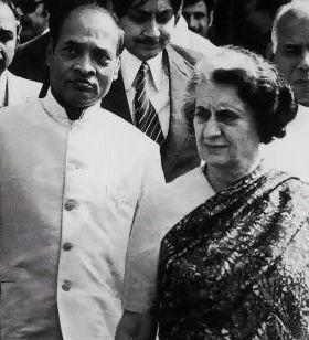 PV with Indira Gandhi http://guruprasad.net/posts/p-v-narasimha-rao-the-forgotten-hero-and-architect-of-modern-india/